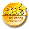 5 star rating from FreshShare